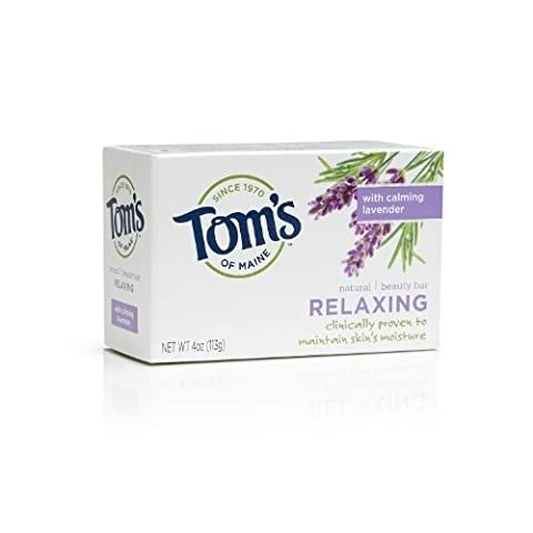 Tom's of Maine Natural Beauty Bar - Relaxing Bath Soaps 4 oz. by Tom's of Maine (Bath Soap Bar)