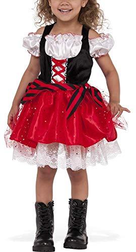 iiniim Vestido de Princesa para Niña Tutú Unicornio Disfraz Infantil de Pirata...