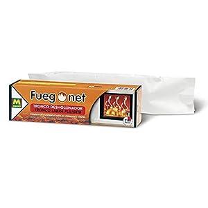 FUEGO NET Fuegonet 231168 Tronco Deshollinador, Marrón, 27.7×7.7×7.7 cm