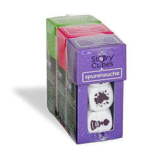 Unbekannt Hutter Trade 878861 - Würfelspiel - Rory's Story Cubes Mix - Bundle 1