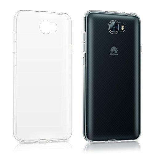 kwmobile Huawei Y6 II Compact (2016) Hülle - Handyhülle für Huawei Y6 II Compact (2016) - Handy Case in Transparent