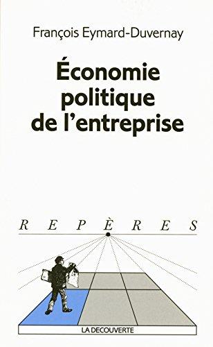 Économie politique de l'entreprise