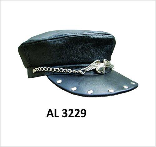 unisex-adult-al3229-biker-cap-one-size-black-by-allstate-leather