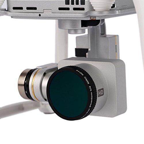 Tonsee OCDAY verstellbar wasserdicht 16 Layer ND4 Gewinde Objektiv für DJI Phantom3/4