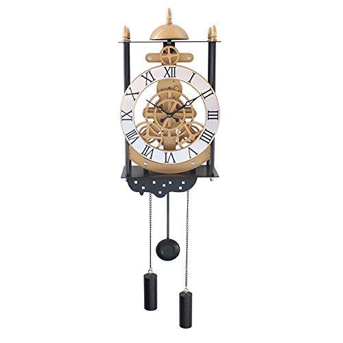 FeiFei156 Birdcage Modell Pendel Uhr Mode Kreative Uhrenkunst Hängende Pendeluhr Im Europäischen Stil Wohnzimmer