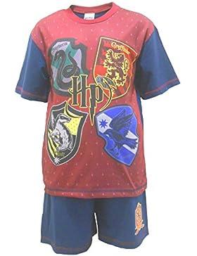 Get Wivvit Pijama Shortie Harry Potter Gryffindor Niños