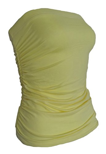 Get The Trend - Canotta - Basic -  donna Giallo