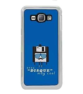 Fuson Designer Back Case Cover for Samsung Galaxy J1 (6) 2016 :: Samsung Galaxy J1 2016 Duos :: Samsung Galaxy J1 2016 J120F :: Samsung Galaxy Express 3 J120A :: Samsung Galaxy J1 2016 J120H J120M J120M J120T (sim card goggle specs hat cap )