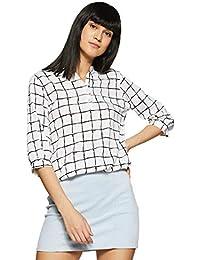 Krave Women's Checkered Regular Fit Top