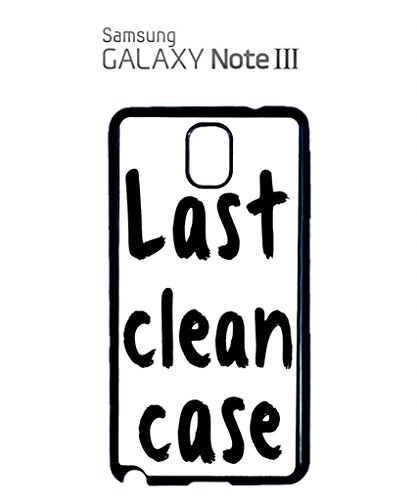 Last Clean Case Mobile Cell Phone Case Samsung Note 2 Black Blanc