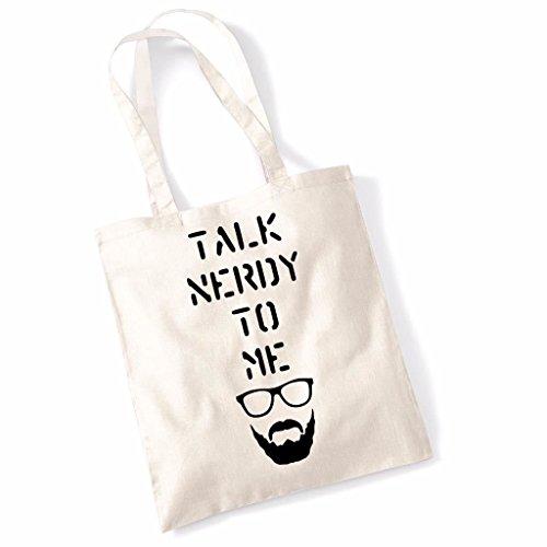 Parla Con Me Di Tote Bag - Naturale Naturale