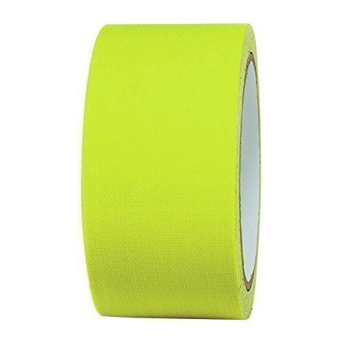 NEON Gaffa Tape Klebeband UV-aktiv 50mm x 25m gelb