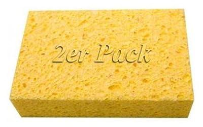 2er Pack Viskoseschwämme / Schwämme, Abmessungen: 160 x 10 x 30 mm von artmaxx - TapetenShop