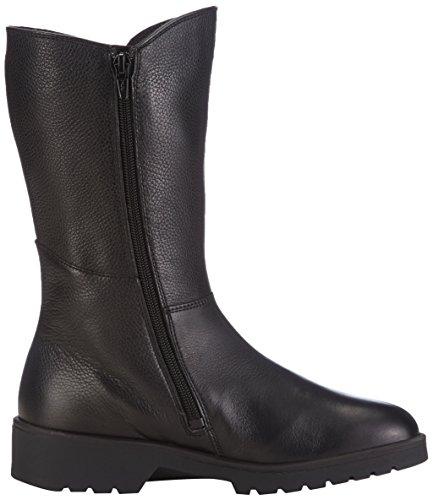 Ganter Ellen-Stiefel Weite G Damen Langschaft Stiefel Schwarz (schwarz 0100)
