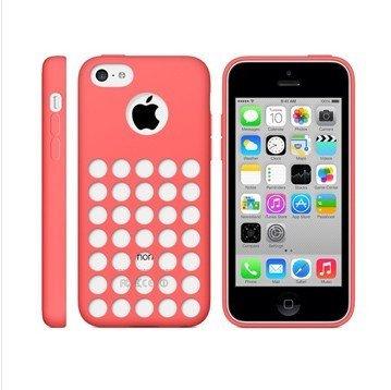 Monkey Cases® iPhone 5C-Silicone Case-Rose-Étui-Original-Neuf/emballage d'origine-Rose Rouge