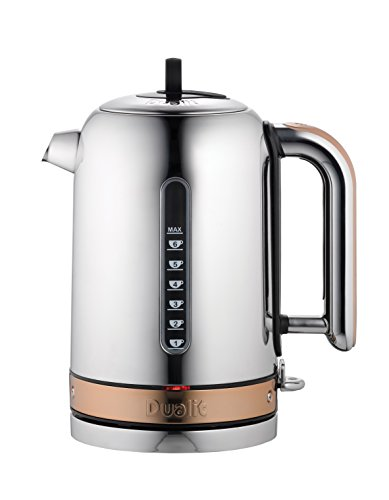 Dualit Classic Kettle 72820 – Chrome with Copper Trim