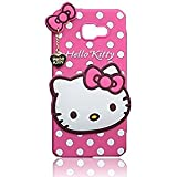 Rapid Zone Cute Hello Kitty Back Cover For Samsung Galaxy J5 Prime - Pink