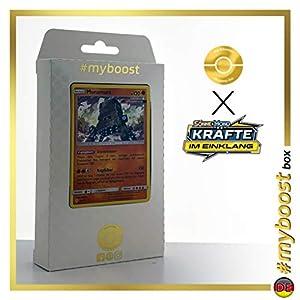 Muramura (Ama-Ama) 106/214 Holo #myboost X Sonne & Mond 10 Kräfte im Einklang - Caja de 10 Cartas de Pokémon alemanas