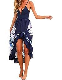 Damen Kleider,Sexy Frauen Sommer Boho {Long Maxi} Party Cocktailkleid Strand Sommerkleid