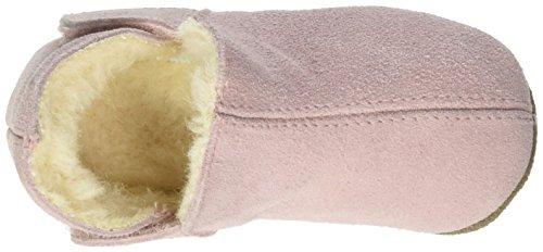 EN FANT Adventure Slipper Wool, Chaussons à doublure chaude fille Rose (Pinecone Olive)