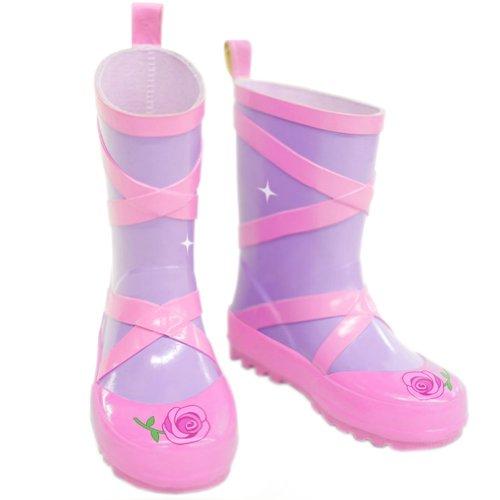 Chaussures de danse Infant journée Pluvieuse Porter pour enfant Chaussures de pluie bébé Rain Boot Chaussures en caoutchouc