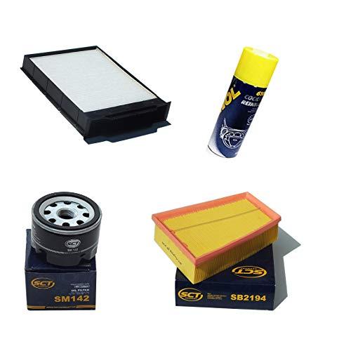 Inspektionspaket Filteristen Pollenfilter SCT Luftfilter Ölfilter Geschenk