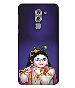 PrintVisa Lord Bal Krishna Kanha 3D Hard Polycarbonate Designer Back Case Cover for Huawei Honor 6X :: Huawei Honor X6 :: Huawei Honor GR6