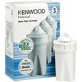 Kenwood , 3 unidades Universal cartuchos para filtrado de agua