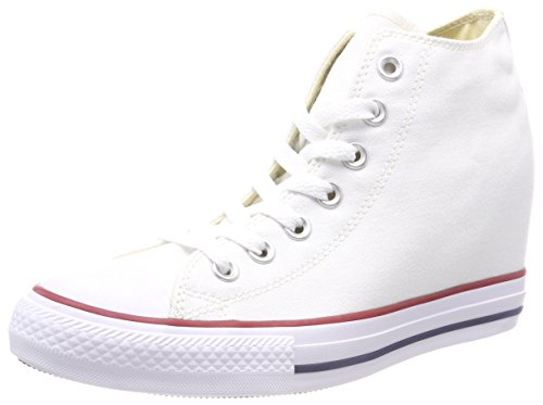 Converse Chuck Taylor CT Lux Mid Canvas, Baskets Basses Femme