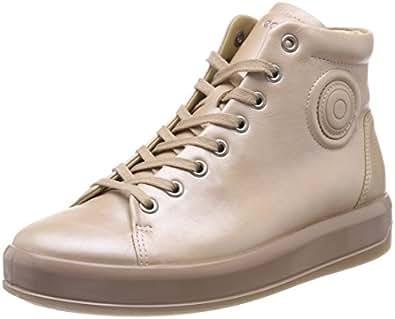 Soft 9, Sneaker a Collo Alto Donna, Nero (Black), 41 EU Ecco