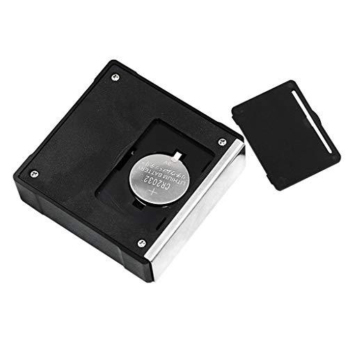 Jugendhj Würfel-Neigungsmesser-Winkelmesser-Meter-Digital-LCD-Winkelmesser-elektronischer waagerecht ausgerichteter Kasten