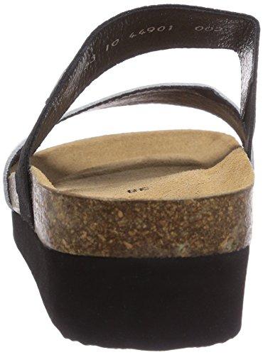Giesswein Viterbo, Sandales compensées femme Argent (002 Silber)