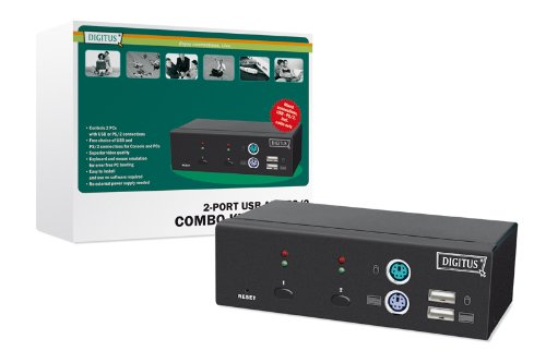 Digitus USB-PS/2 Combo-KVM switch