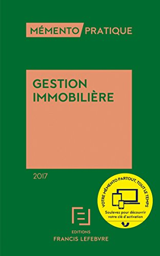 MEMENTO GESTION IMMOBILIERE 2017