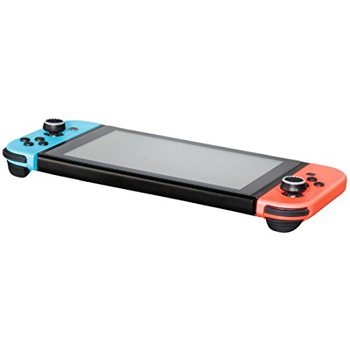 "Hama ""8in1""-Set Control-Stick Aufsätze für Nintendo Switch Joy-Con Controller (Thumb-Stick Caps für besseren Grip, in 4 Farben) Analog-Stick Schutz-Kappen schwarz-weiß/-blau/-rot/-grau"