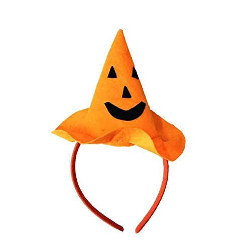 jovono Headbands Kürbis Hat Haarband für Frauen Kinder auf Halloween Party (Mädchen Meine Kostüme Diy)