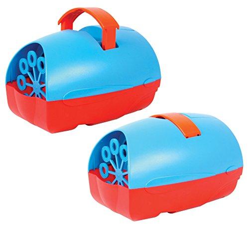 Macchina Delle Bolle Di Sapone Portatile, leggera, facile da trasportare, dotata di maniglia estraibile ed utilizzabile con semplici pile o batterie - Sparabolle