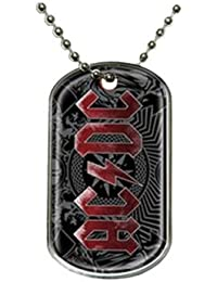 AC/DC Black Ice Dog Tags