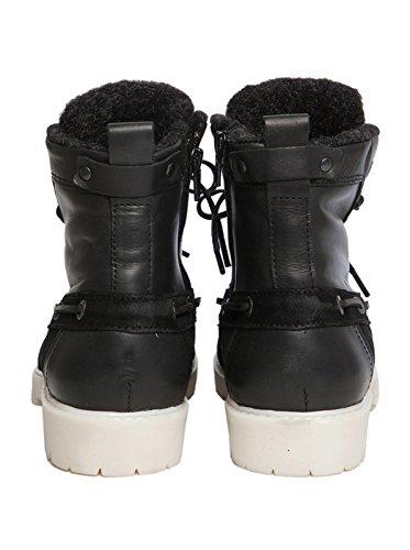 NOBRAND Chaussures hautes Femme Chaussures Bottes Bottines Boots-Marron Expresso