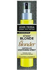 John Frieda Sheer Blonde Spray éclaircissant ciblé - Pour mèches ensoleillées