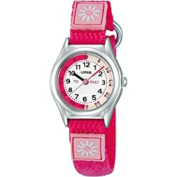 Lorus Time Teacher Watch Bright Pink RG265HX9