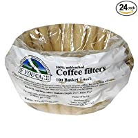 If You Care 8-Inch Basket Filters in Poly Bag, 100-Count Packages