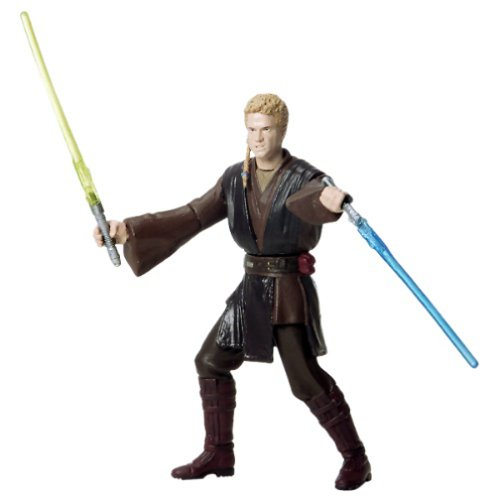 Star Wars Attack of the Clones Anakin Skywalker Hanger Duel figure