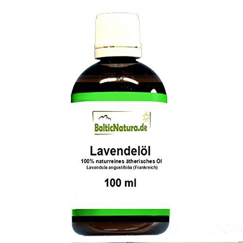 Lavendelöl 100 ml 100% naturreines ätherisches Öl