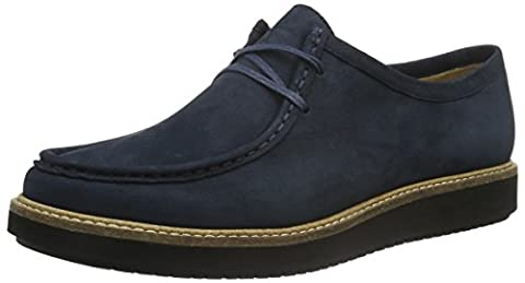 Clarks Women's Glick Bayview Casual Shoe, Blue (Navy Nubuck), 7 UK (41 EU)