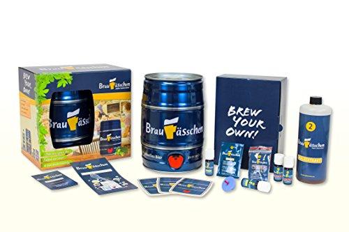 Premium Bierbrauset zum selber Brauen - Unerreichte Geschmacksvielfalt - In 7 Tagen gebraut