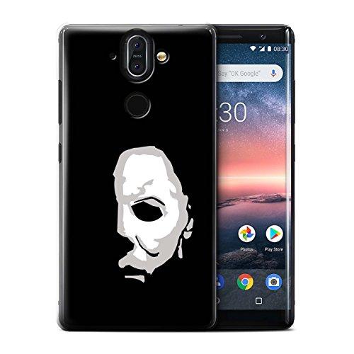 Stuff4® Hülle/Case für Nokia 8 Sirocco 2018/Michael Myers Inspiriert Kunst Muster/Grusel Filmkunst Kollektion