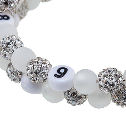 Stillarmband Glamour - Praktisch für stillende Mütter sowie ein ideales Geschenk zur Geburt! (weiß) - 2