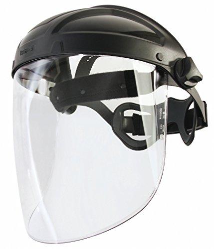 Honeywell TurboShield Gesichtsschutzschild | Gesichtsschutzschirm mit Klappvisier | auch für Brillenträger geeignet | Gesichtsschutz für verschiedenste Anwendungen