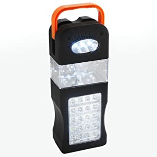 Camping Lantern with 33 LEDs - Provides 10 Hours of Bright Illumination - Carrying & Hanging Handle by Tech Tools